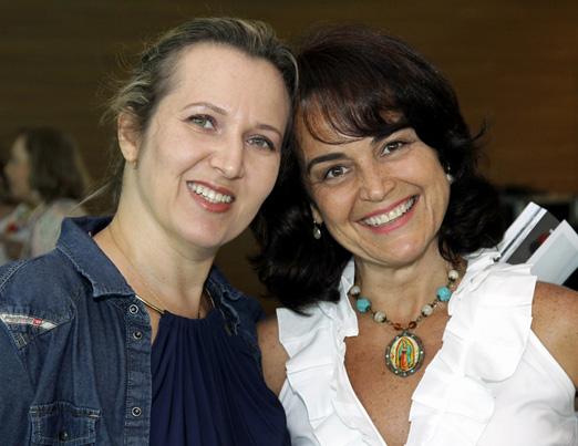 Geraldine Kauffman e Bel Gasparian