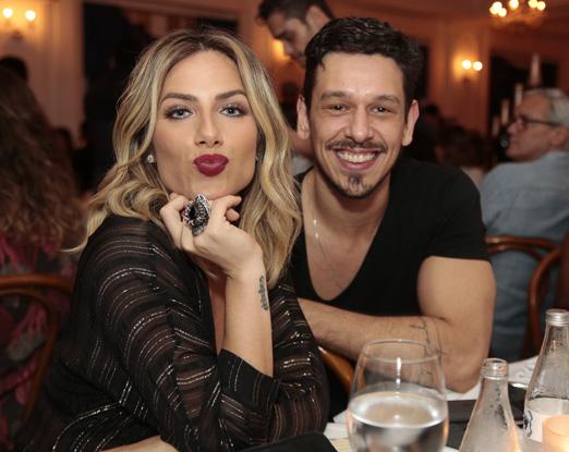 Giovanna Ewbank e João Vicente Castro