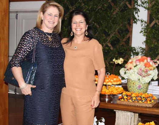 Glória Severiano Ribeiro e Clara Magalhães