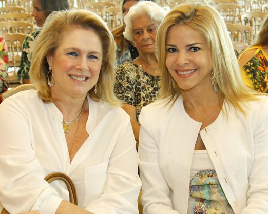 Glória Severiano Ribeiro e Manoela Ferrari
