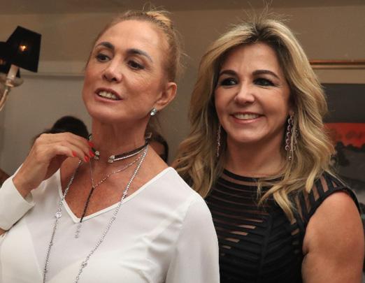 Hortência e Marisa Clermann