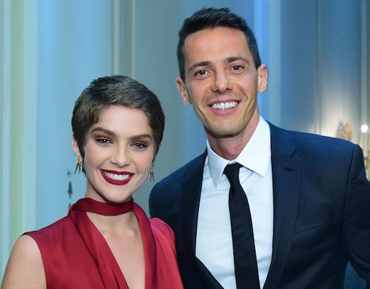 Isabella Santoni e Rodrigo Galindo