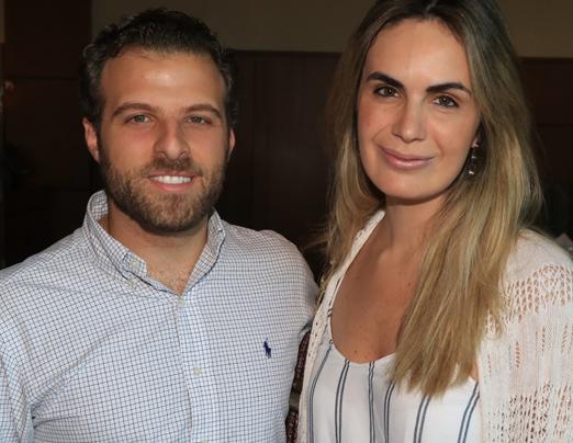 Jean Paul Maroun e Cecilia Padilha