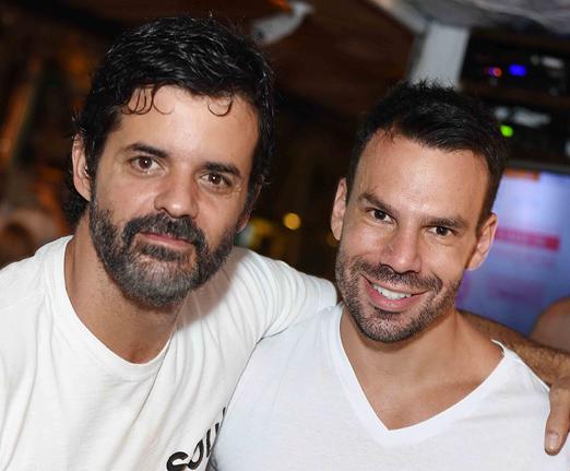Jorge Pontual e Felipe Adler