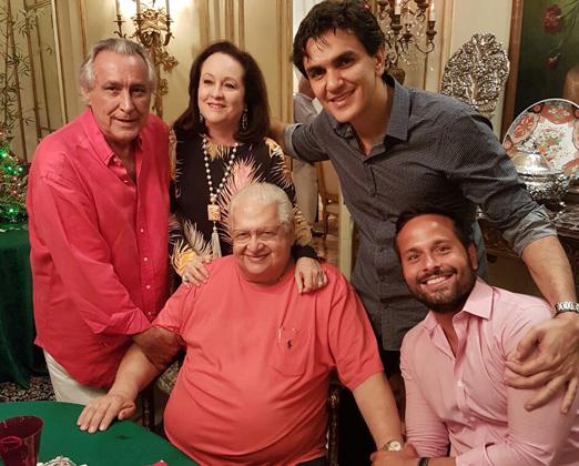 Leleco Barbosa, Beth Serpa, Gabriel Chalita, Carlos Alberto Serpa e Marcelo Calero