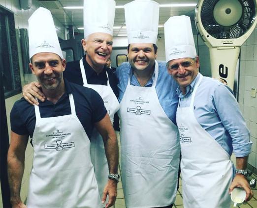 Leonardo Araújo, Ricardo Stambowsky, Carlos Lamoglia e Roberto Cohen
