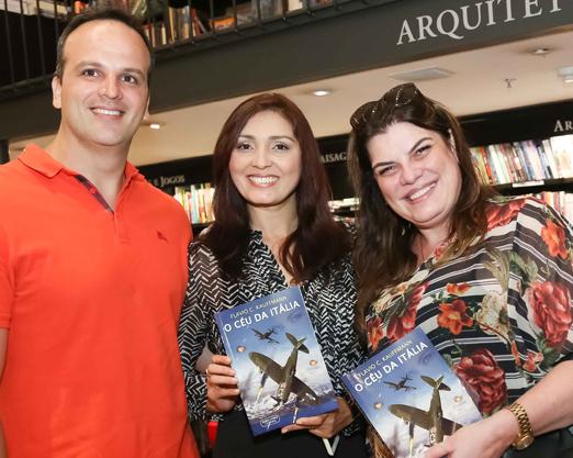 Lucca Alves, Gil Nicacio e Ana Cristina Blois