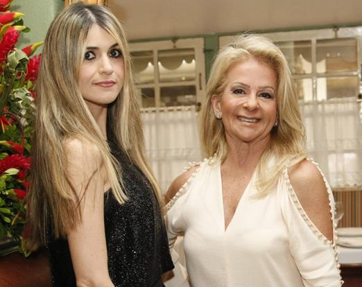 Luciana Leite e Zizi Baptista