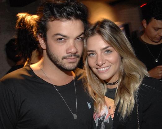 Luis Palomares e Isabela Santos