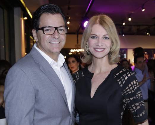 Marcello de Lucca e Laura Wie