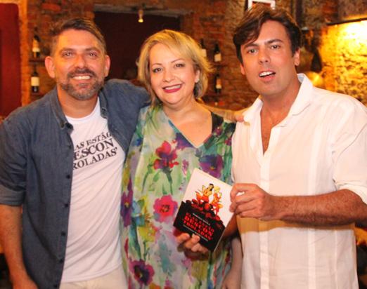 Marcelo Aouila com Gottsha e Marcio Gomes