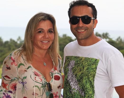 Marisa Clermann e Ricardo Nobre