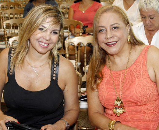 Mercedes Herrera e Candida Virginia Ribeiro