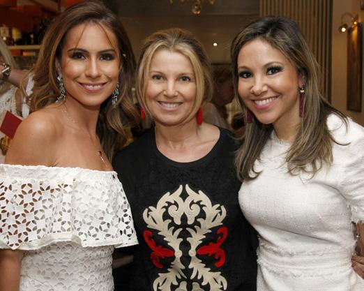 Nathalia Schneider, Denise Leão e Alessandra Amaral