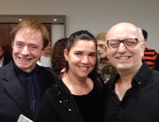 Joana Teixeira, Yacy Nunes e Christovam Chevalier