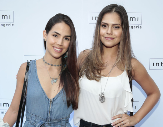 Perola Faria e Jessika Alves