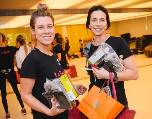 Priscila Machado e Carla Guarita
