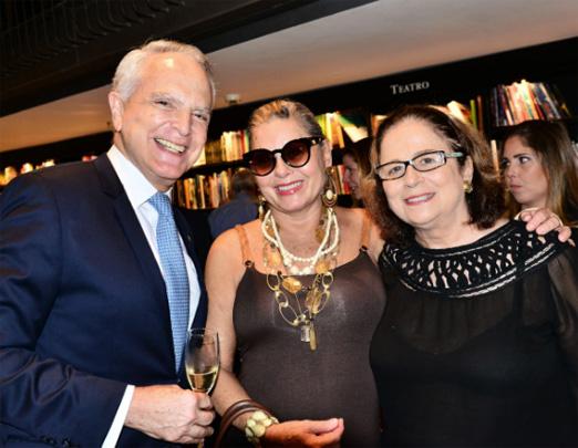 Ricardo Stambowsky, Vera Fischer e Hildegard Angel