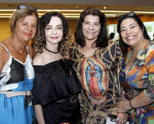 Rosana Rodrigues (Fofa), Vera Loyola, Rose May Addario e Claudia Cury