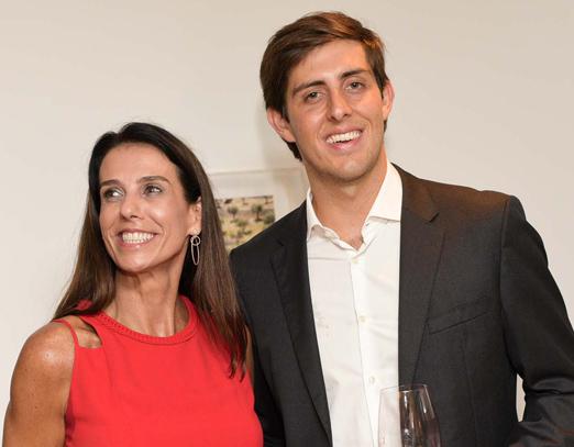 Sinara Ruiz e Marcelo Lutz