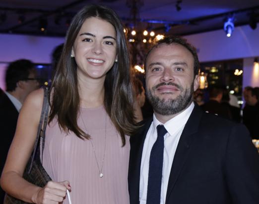 Sofia Fekete e Pierre Parra
