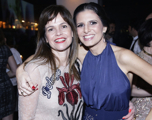 Solange Francisco e Fernanda Suplicy