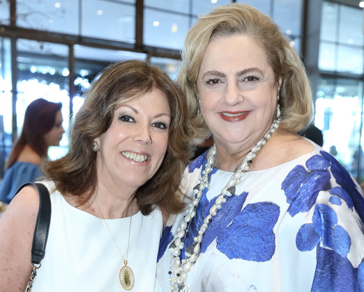 Sylvia de Castro e Cristina Aboim
