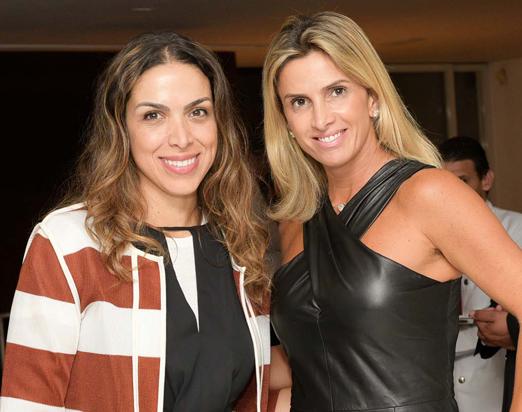 Taciana Veloso e Silvia Vidigal Ramos