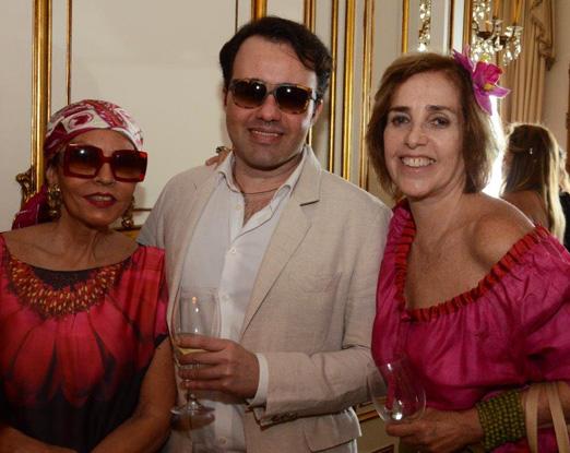 Tania Caldas, Gustavo Gonçalves e Vera Bocayuva