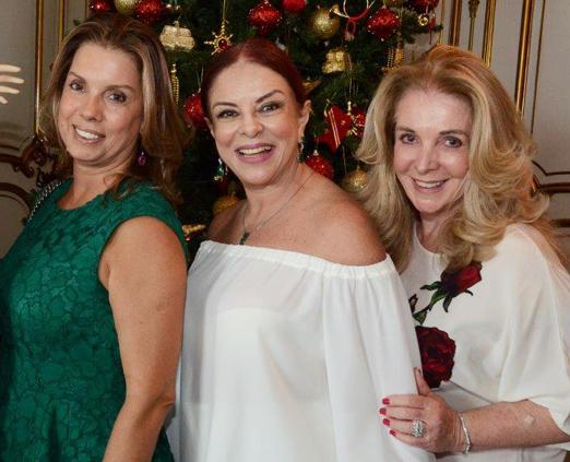 Tania Pereira, Suely Bedran e Vera Cardoso