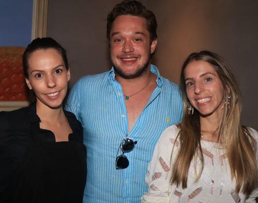 Tassia Magalhães, Helinho Calfat e Stella Jacintho