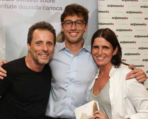 Tony Bellotto, Luis Felipe e Malu Mader