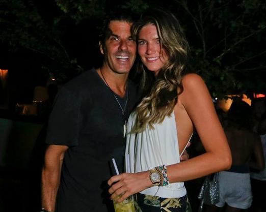 Álvaro Garnero e Lou Montenegro