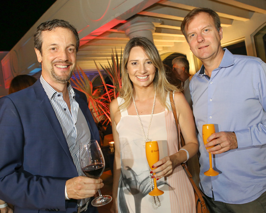 Alexis de Vaulx, Carolina Stolf e Jean Marc Pouchol