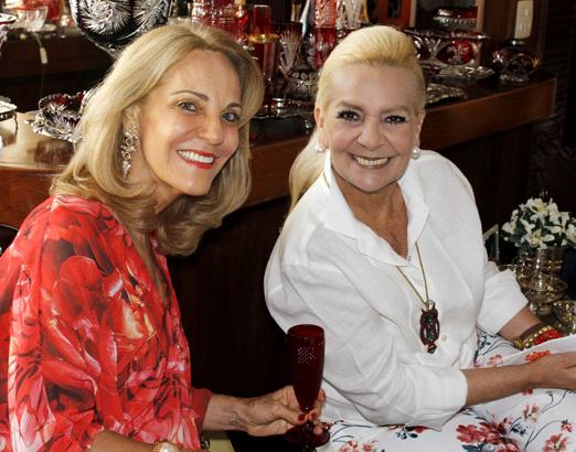 Ana de Paula e Vera Bangel