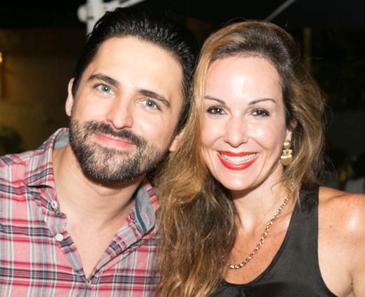 Anderson Thives e Suzana Galdeano