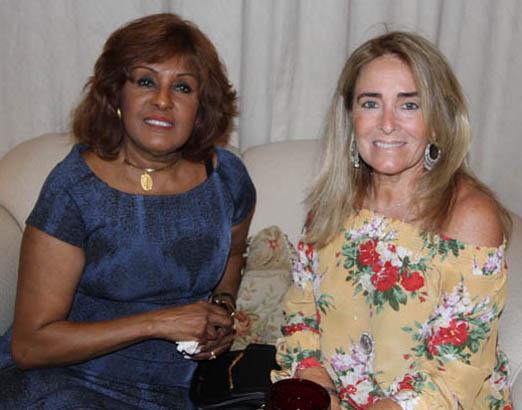 Bete Suzano e Leila Albuquerque