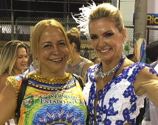 Candida Virgínia Ribeiro e Márcia Veríssimo