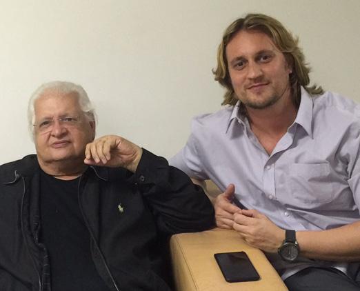 Carlos Alberto Serpa e Leandro Bellini