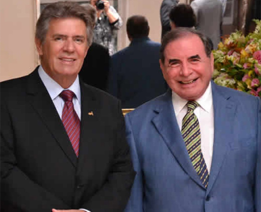Carlos Oscar Uebel e Ewaldo Bolivar