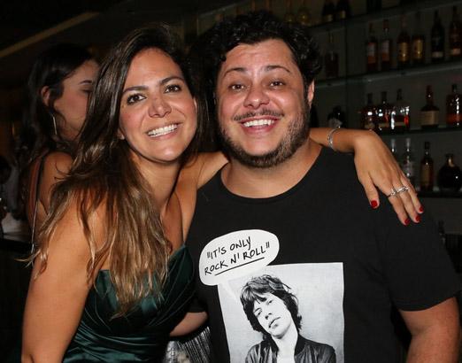 Carol Sampaio e Marcus Majela