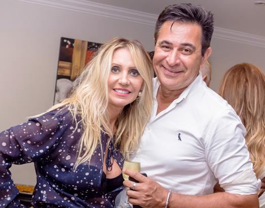 Christiane Abrão e Claudio Vaz