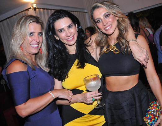 Christiane Prado, Silvana Bertolucci e Maria Fernanda Kuntzen