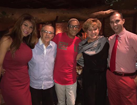 Claudia Edson, José Victor, Silvetty Montilla, Nany People e Getulio Montreux