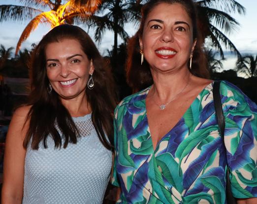 Claudia Motta e Aurivania Constantino