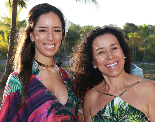 Fabiana Garcia e Ilda Baker
