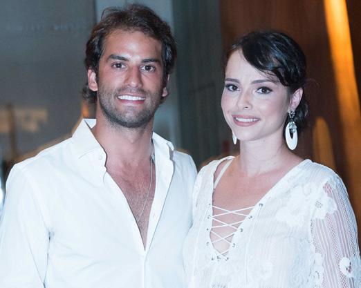 Felipe Nasr e Talita Vaccaro