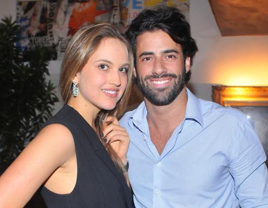Gabriela Silvarolli e Felipe Scarpa