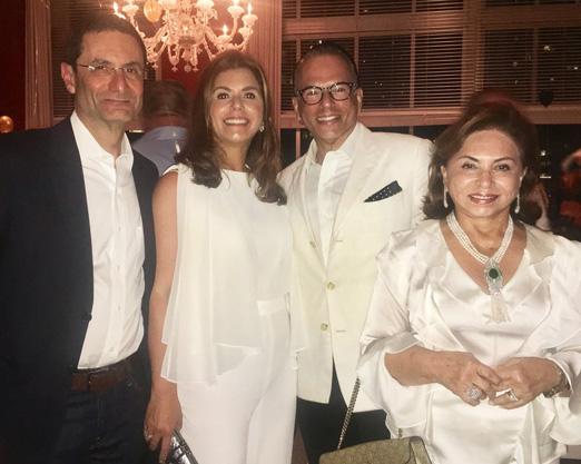 Henrique Szapiro, Raquel Verri, Heckel Verri e Cleuba Verri