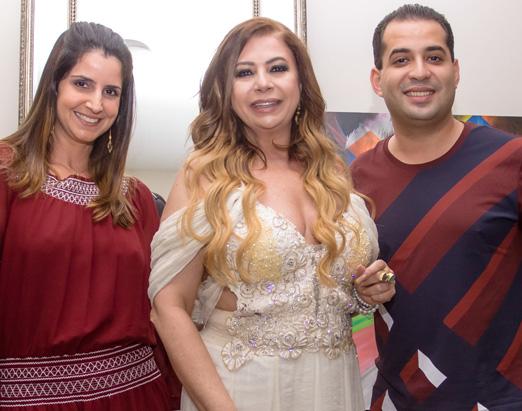Kristhel com Marcelo Machado Matarazzo e namorada